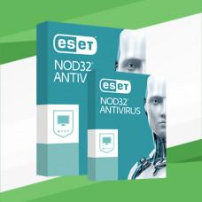 ESET NOD32 Antivirus  1 PC / 1 YEAR