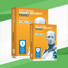 ESET NOD32 Smart Security Family - 3 PC / 1 YEAR (20 months)