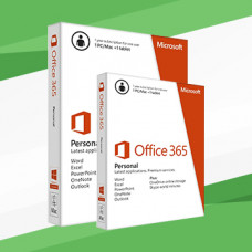 Microsoft Office 365 Personal 1 PC + tablet, 1 year