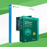 Windows 10 Home + Kaspersky