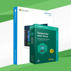 Windows 10 with Kaspersky