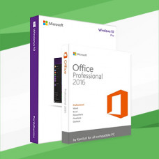 Windows 10 Pro with Office 2016 Pro