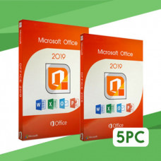 MS Office Pro Plus 2019 on 5 PC