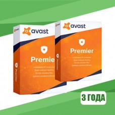 Avast Premier 2018  (3 YEAR / 1 PC) license