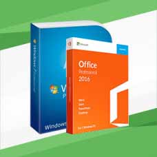 Windows 7 Professional (x64/x32) + Office 2016