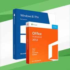 Windows 8.1 Professional (x64/x32) + Office 2016 ProPlus
